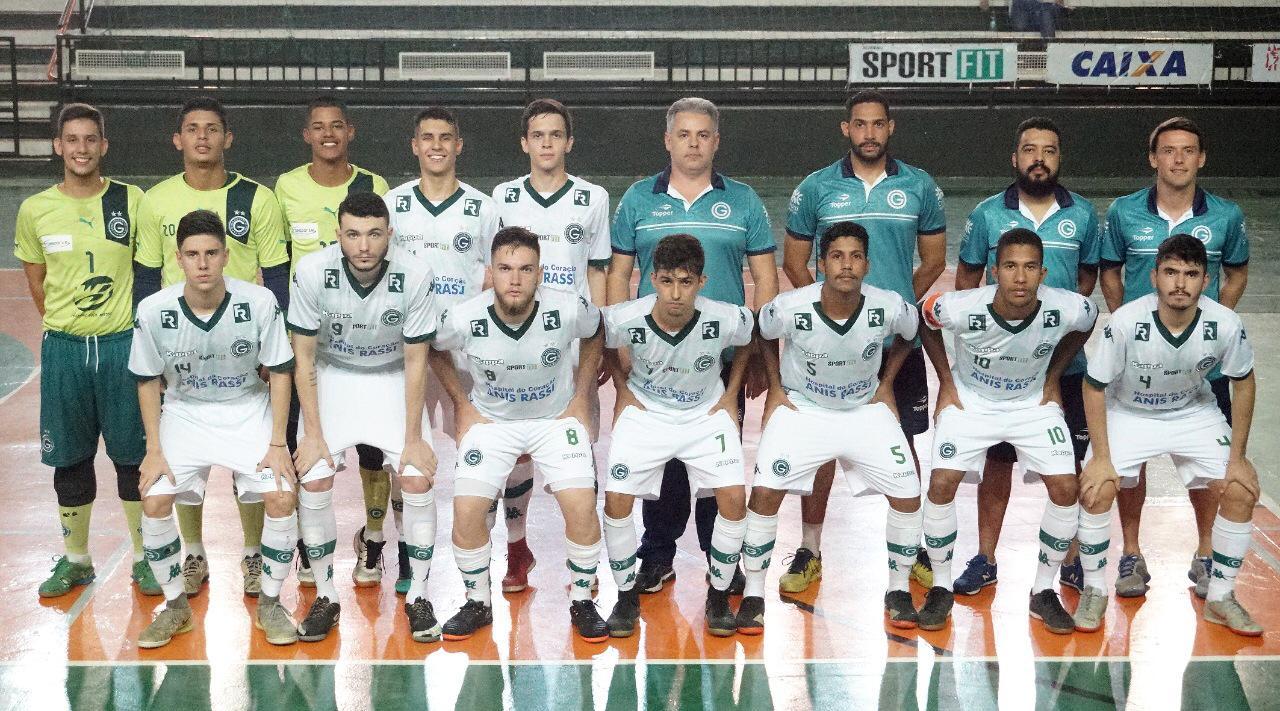 Avaliações de futsal para categorias sub-17 e sub-20 - Goiás Esporte ... 895a3adceec04
