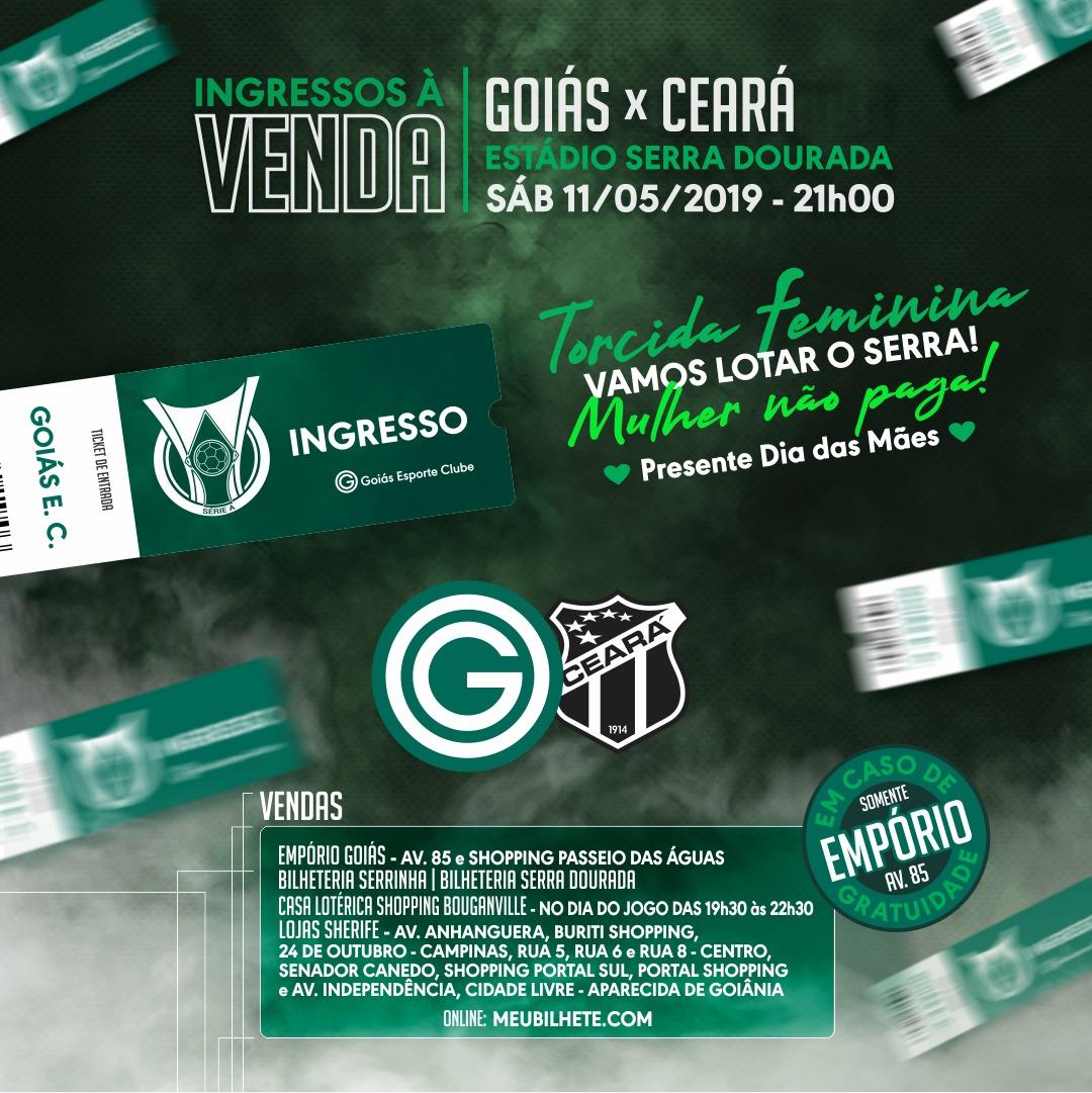 2ec501d06 Super promoção nos ingressos para Goiás x Ceará